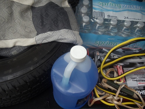 Vehicle supplies from a Day Road Trip