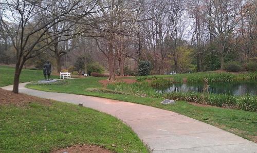 Jimmy Carter Library & Museum - Atlanta, Georgia - gardens