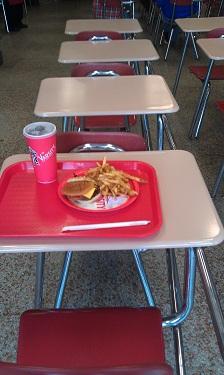 The Varisty - Atlanta - school style seating
