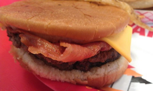 The Varisty - Atlanta - bacon cheeseburger