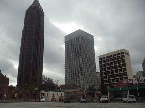 The Varisty - Atlanta - Midtown skyline