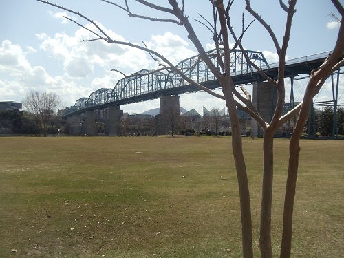 Coolidge Park, Chattanooga, Tennessee - Walnut Street Bridge