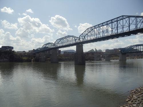 Coolidge Park, Chattanooga, Tennessee - Walnut Street Bridge
