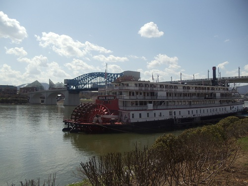 Coolidge Park, Chattanooga, Tennessee - Delta Queen Hotel