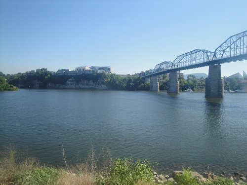 Coolidge Park, Chattanooga, Tennessee - Tennessee River