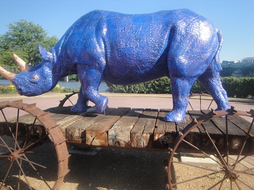 Coolidge Park, Chattanooga, Tennessee - Blue Boy Pull Toy #1