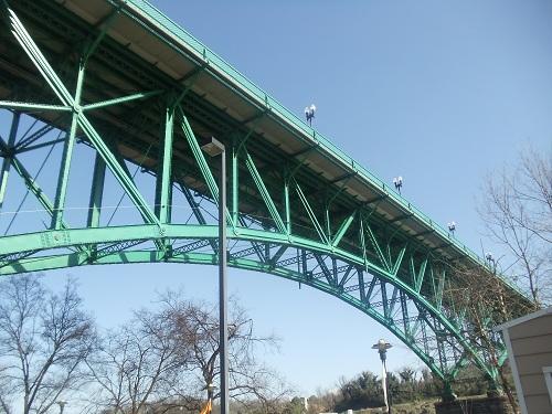 Volunteer Landing - Knoxville, Tennessee - Gay Street Bridge