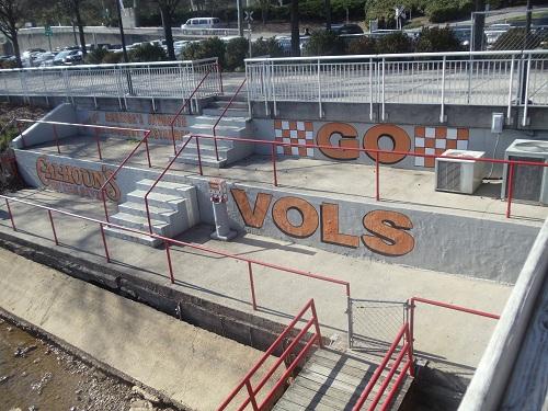 Volunteer Landing - Knoxville, Tennessee - University of Tennessee Volunteer's Orange