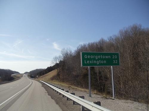 Northern Kentucky - I-75 southbound heading towards Lexington