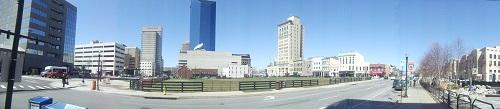 Panoramic shot - Downtown Lexington, Kentucky