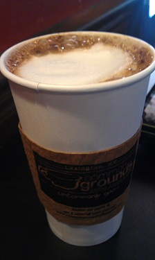 Buckeye Latte - Common Grounds Coffee House & Cafe - Lexington, Kentucky