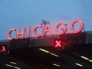 "Photo of the Week: ""Chicago"" Skyway Signage  