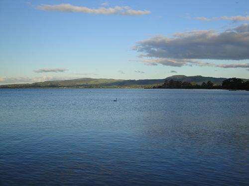 Lake Rotorua, North Island, New Zealand