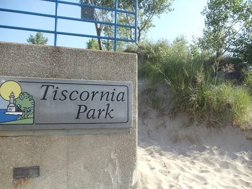St. Joseph, Michigan - Tisconia Park entrance