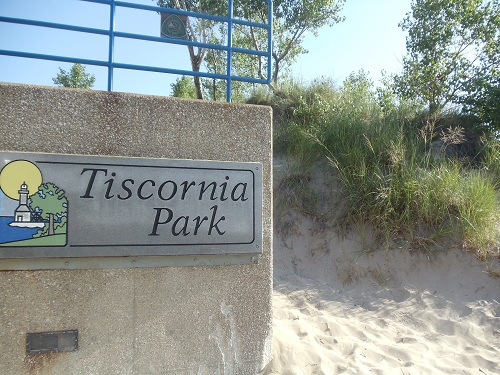 St. Joseph, Michigan - Tisconia Park entrance
