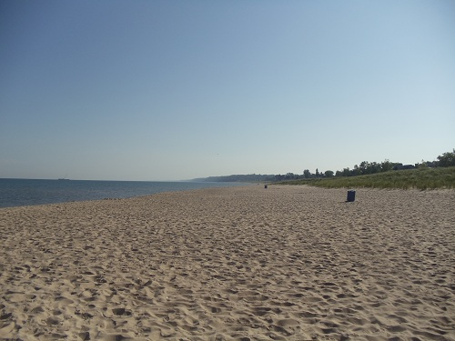 St. Joseph, Michigan - Tisconia Beach Park, Lake Michigan