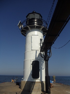 St. Joseph, Michigan - North Pier, Outer Pierhead Light, lighthouse