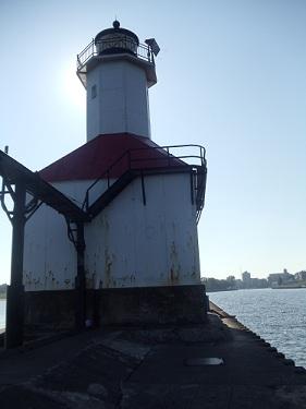 St. Joseph, Michigan - North Pier, Inner Lights, lighthouse