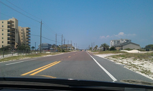 Perdido Key, Florida to Orange Beach Alabama