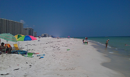 Gulf of Mexico beaches, Florida and Alabama