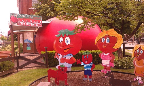 Leamington, Ontario - Tomato capital of Canada