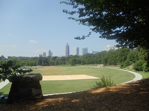 My 7 Super Shots - Atlanta skyline, Piedmont Park