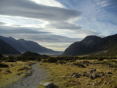 My 7 Super Shots - New Zealand, Mount Cook Village, Kea Point