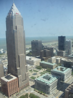 Cleveland - Terminal Tower views