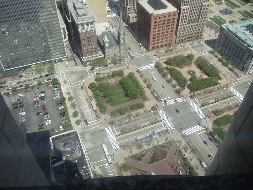 Cleveland - Terminal Tower, Observation Deck - 42nd floor