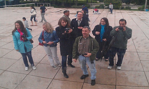 Windy City Tweetup - Tbe Bean (Cloud Gate) - Chicago