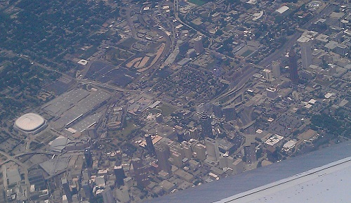 Atlanta, Georgia from the Friendly Skies.