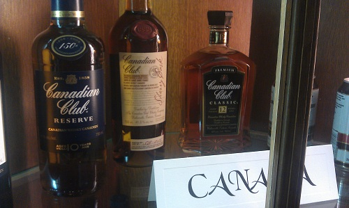 Canadian Club Whiskey, Windsor, Ontario, Canada