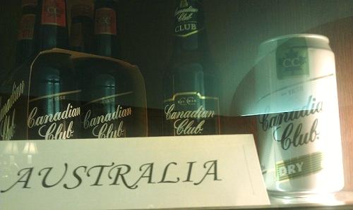 Canadian Club Whiskey, Windsor, Ontario, Canada