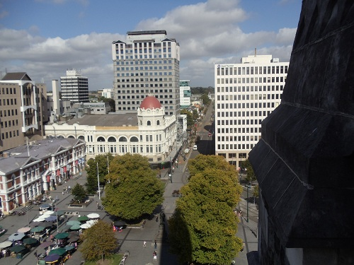 Christchurch, New Zealand - Cathedral views