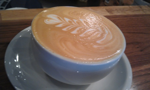 Chicago - The Wormhole Coffee - Vanilla Bean Latte