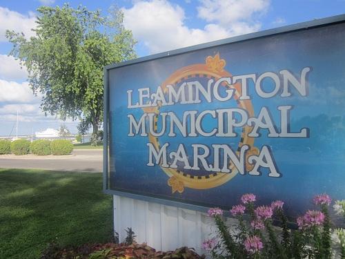 Leamington Municipal Marina, Ontario, Canada