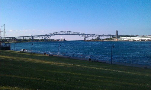 Port Huron, Michigan - Blue Water Bridge