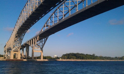 Port Huron, Michigan - Blue Water Bridge.