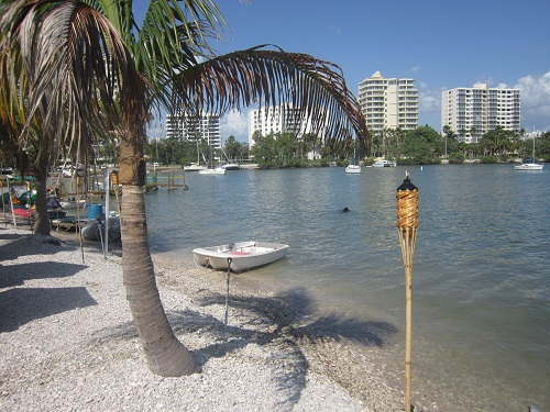 Sarasota, Florida - tropical setting