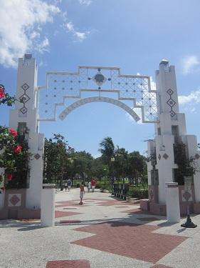 Sarasota, Florida - Island/Bayfront Park entrance