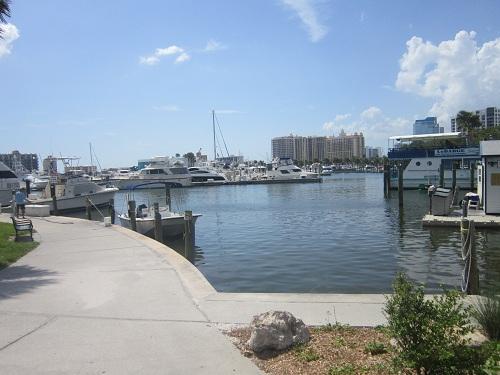 Sarasota, Florida - Island/Bayfront Park - harbor