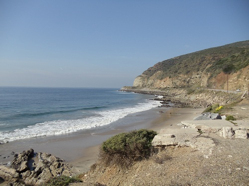 Capturing the Color Blue - California PCH