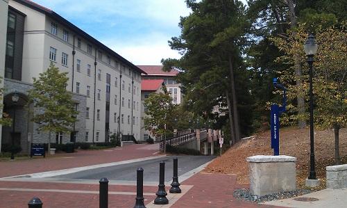 Emory Village, Emory University, Atlanta, Georgia