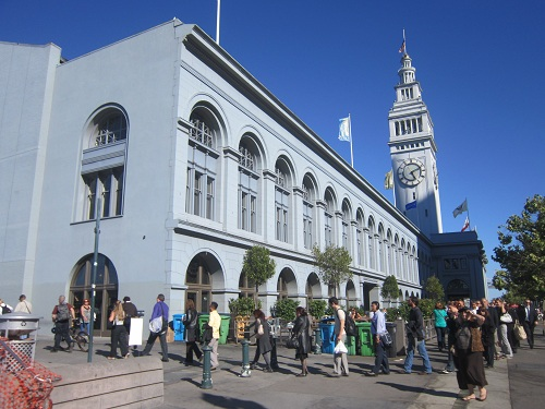 San Francisco Ferry Building - California