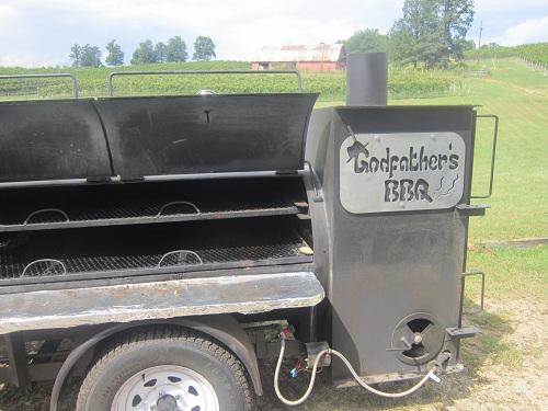 Godfather's BBQ sundae - Logansville, Georgia