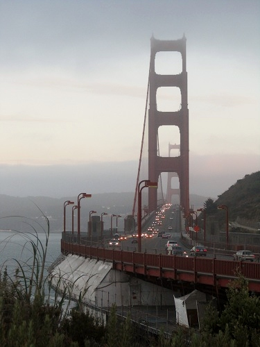 Golden Gate Bridge, San Francisco, Marin County, California
