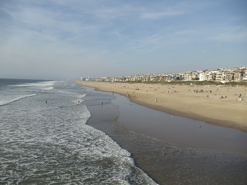 Manhattan Beach, Southern California, pier