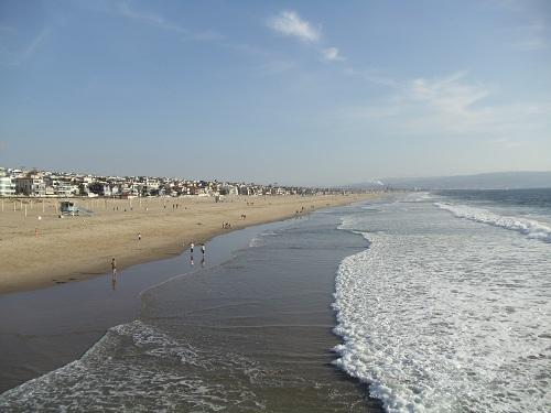Manhattan Beach, Southern California, pier