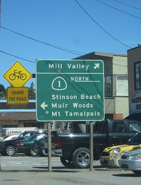 Stinson Beach, Pacific Coast beach town California, PCH