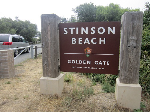 Stinson Beach, Pacific Coast beach town California